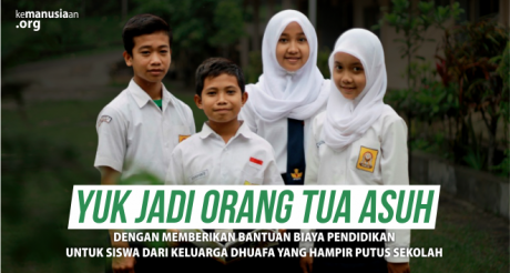 Donasi Beasiswa Pendidikan Anak Yatim