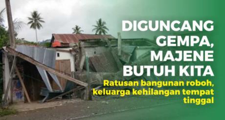 Donasi Gempa Majene