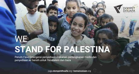 We Stand For Palestina